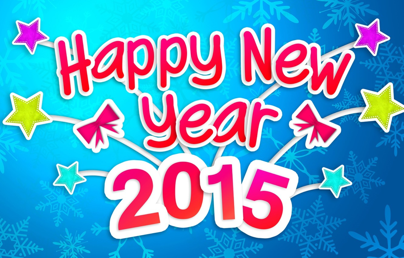 Photo wallpaper Happy New Year, Christmas, New Year, December, Merry Christmas, Holiday, 2015