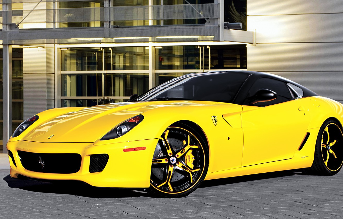 Photo wallpaper supercar, ferrari, 599, tuning, asanti