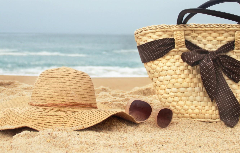 Photo wallpaper sand, sea, beach, summer, nature