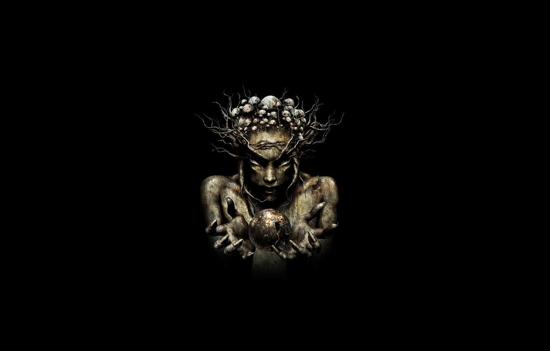 Photo wallpaper Music, Black, Minimalism, Infected Mushroom, Psytrance, Psychedelic Trance