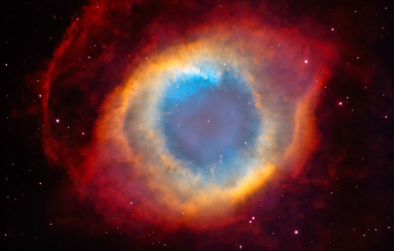 Photo wallpaper Stars, NGC 7293, The Helix Nebula, Nebula Snail, Planetary Nebula, The Death Of A Star, …