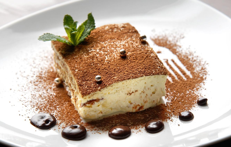 Photo wallpaper background, Wallpaper, food, chocolate, cake, dessert, widescreen, cake, sweet, full screen, HD wallpapers, tiramisu
