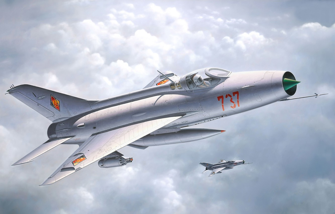 Photo wallpaper the plane, easy, fighter, art, soldiers, MiG, BBC, OKB, Soviet, Frontline, supersonic, Of the Soviet …