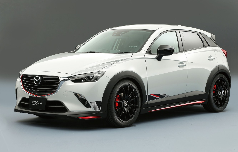 Photo wallpaper Concept, Mazda, Racing, Mazda, CX-3