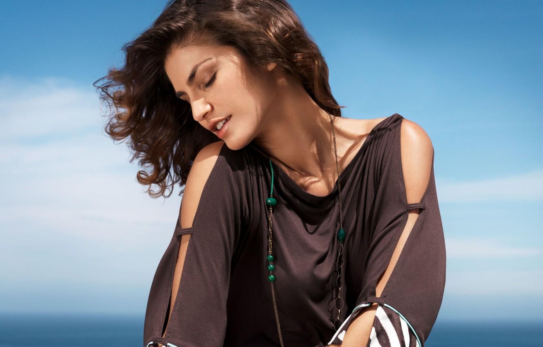 Photo wallpaper model, actress, brunette, Juliana Martins, Juliana Martins