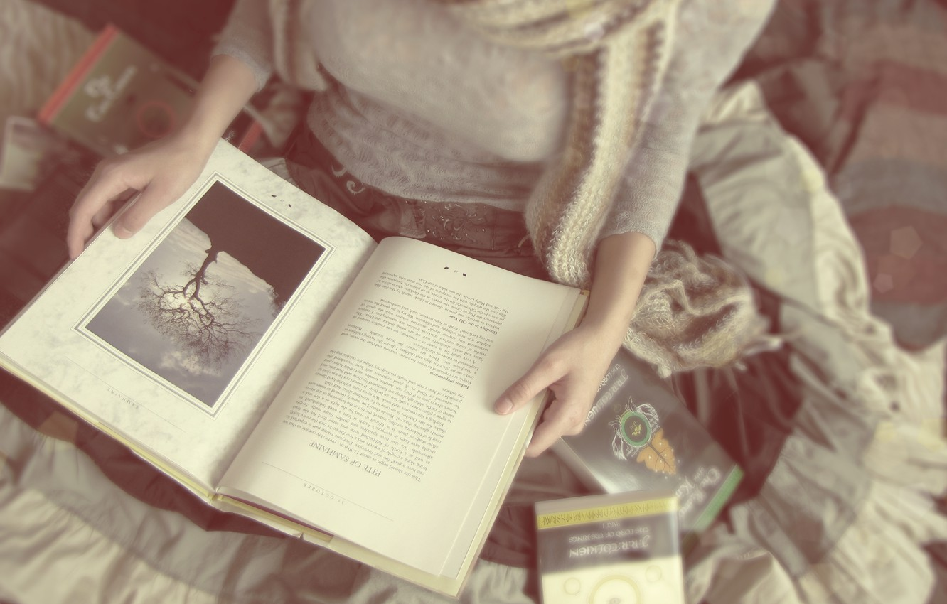 Wallpaper Girl Mood Books Reading Soft Lovers And Hard