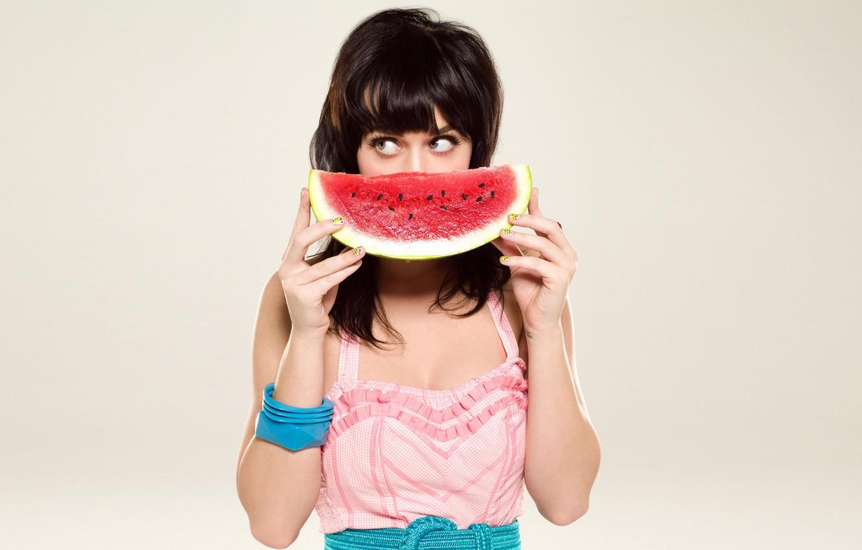 Photo wallpaper Watermelon, Katy Perry