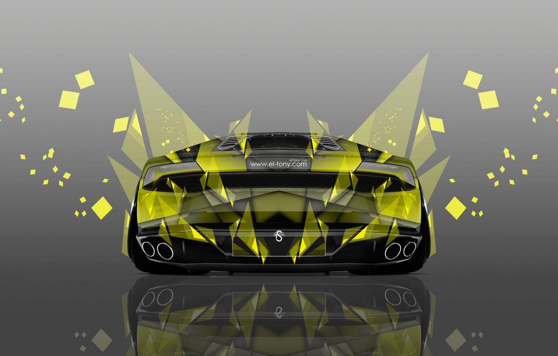 Wallpaper Lamborghini Yellow Wallpaper Art Abstract Photoshop