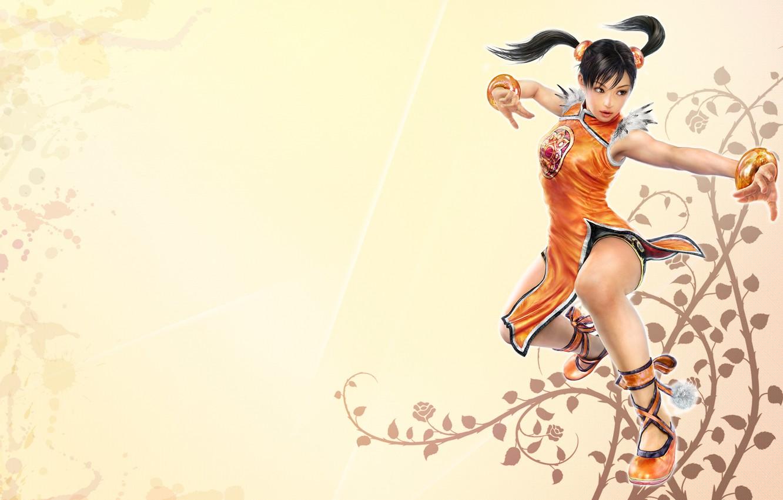 Photo wallpaper background, light, Tekken, Tekken, Xiaoyu, Tekken 6