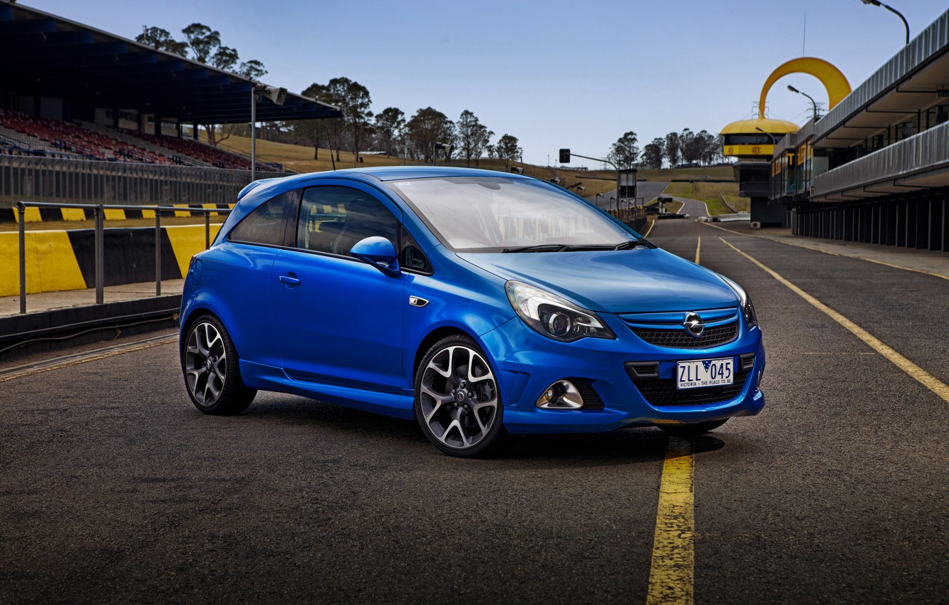 Photo wallpaper Opel, Corsa, Opel, 2013, OPC, Corsa