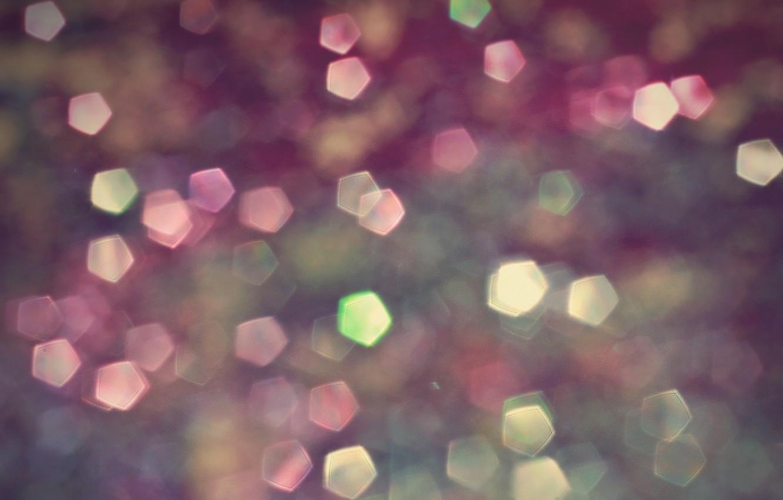 Photo wallpaper glow, lights, soft colors