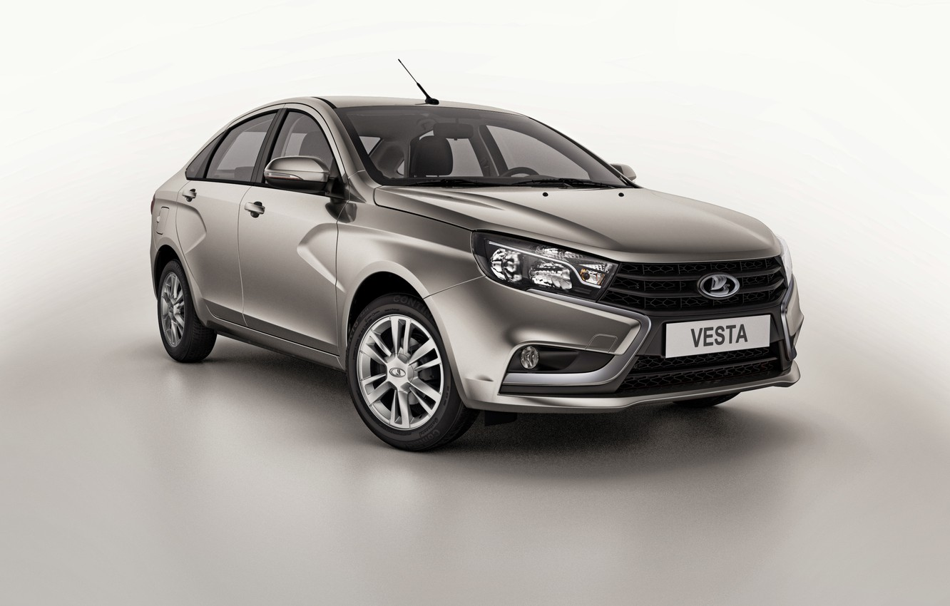 Photo wallpaper Lada, Lada, 2015, Vesta, Vesta