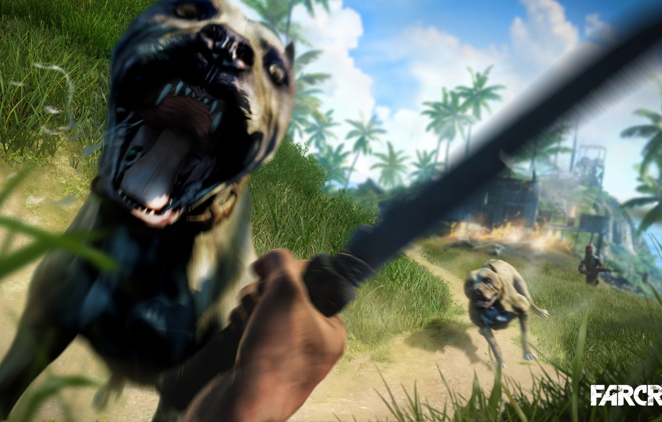 Wallpaper Fire Knife Far Cry 3 Dogs Images For Desktop Section