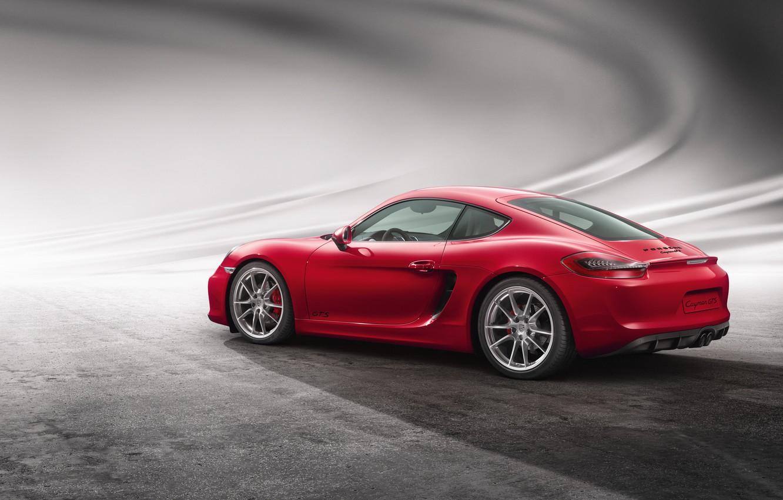 Photo wallpaper Porsche, Cayman, Porsche, GTS, 2014, Caiman
