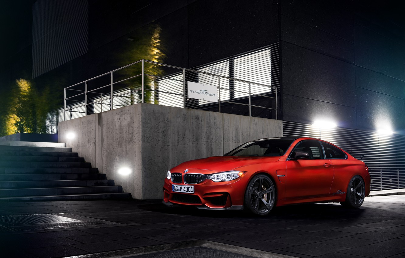 Photo wallpaper BMW, coupe, BMW, Coupe, AC Schnitzer, F82, 2014