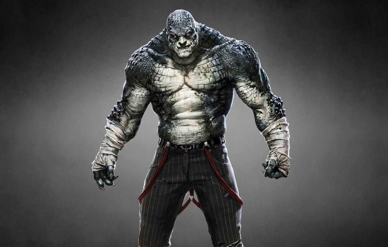 Photo wallpaper monster, Batman: Arkham Origins, Batman: Arkham Origins, Killer Croc, Killer CROC