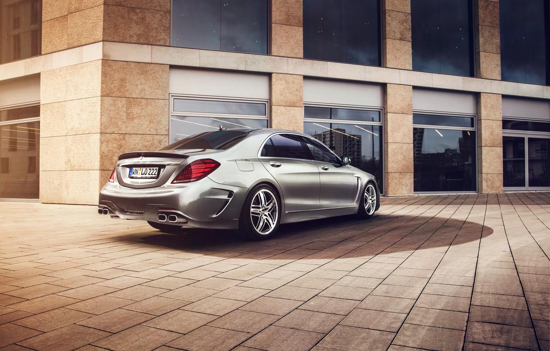 Photo wallpaper Mercedes-Benz, Mercedes, S-Class, 2014, W222, Lorinser