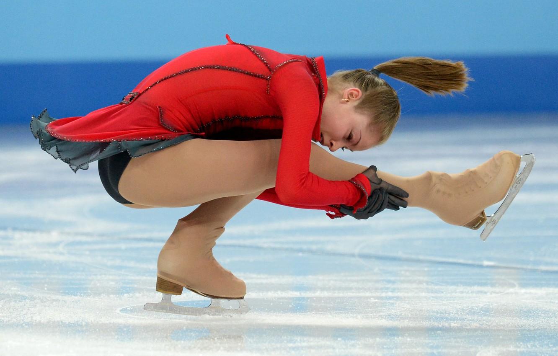 Wallpaper Girl Julia Nice Figure Skating Lipnitskaia Images For Desktop Section Sport Download
