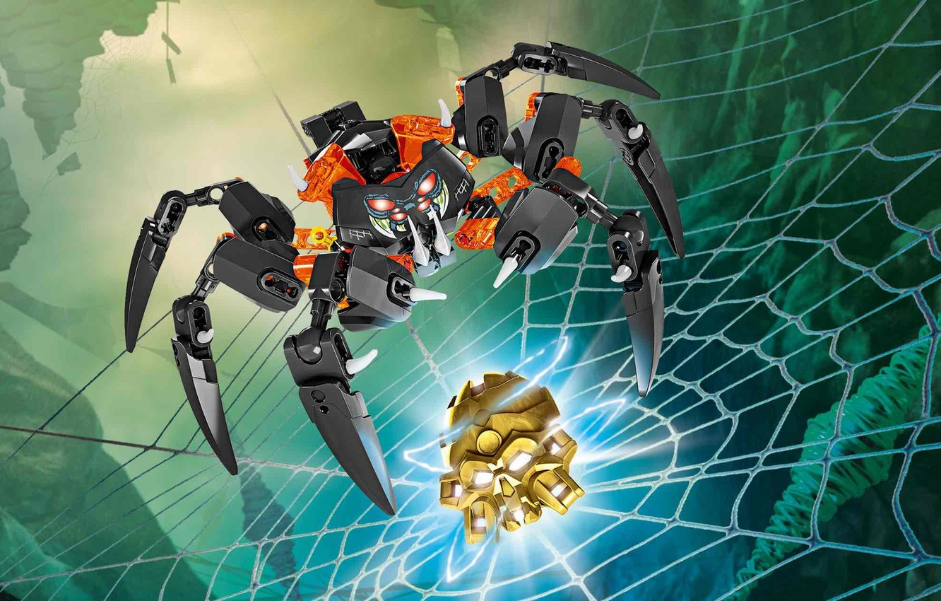 Photo wallpaper LEGO, LEGO, Lord of the skull spiders, Bionicle, lord of the skylls spiders, BIONICLE, 70790