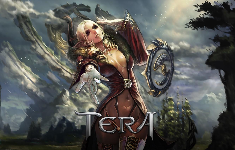 Photo wallpaper MMORPG, Castanic, Tera Online, Bluehole Studio