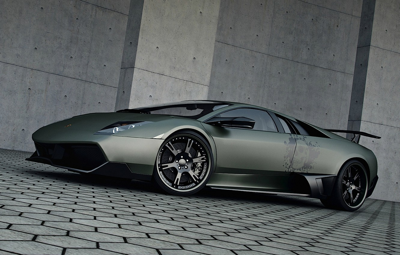 Photo wallpaper tuning, Lamborghini, Wheelsandmore, Murcielago, SuperVeloce, LP720-4