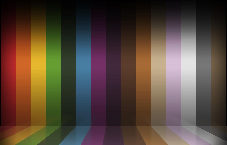 Photo wallpaper strip, color, the Wallpaper