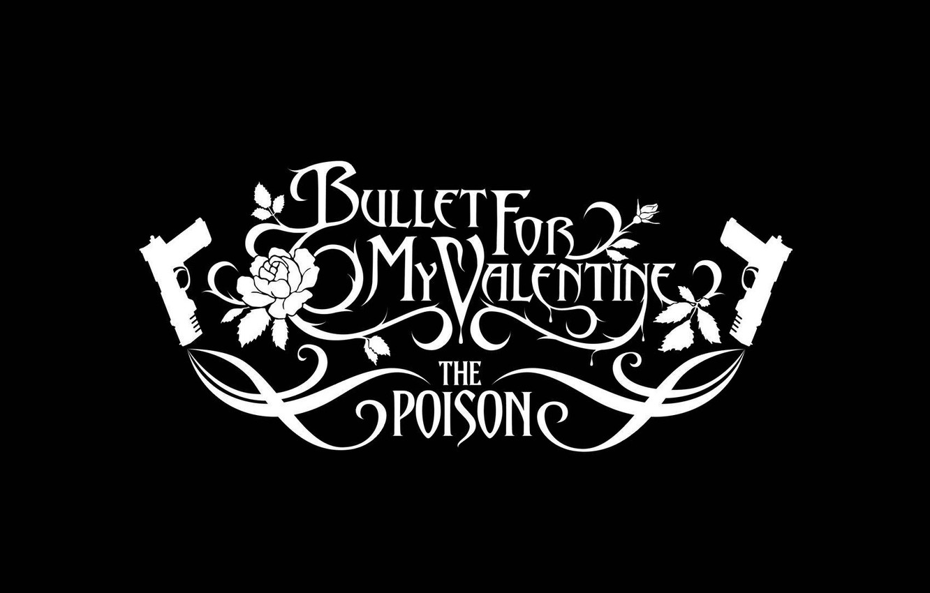 Wallpaper Group Album Logo Poison Metalcore Cover Metalcore Bullet For My Valentine The Poison Bfmv Images For Desktop Section музыка Download