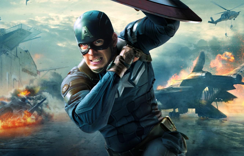 Wallpaper Marvel Steve Rogers Soldier Captain America The