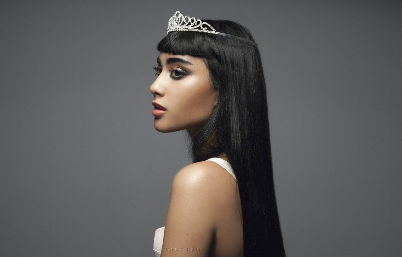 Photo wallpaper crown, singer, natalia, Natalia, kills, kills