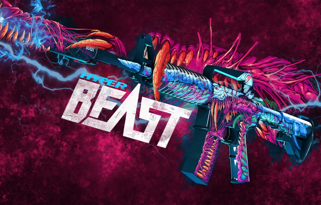 Wallpaper Lightning Monster Paint Workshop Cs Go Custom