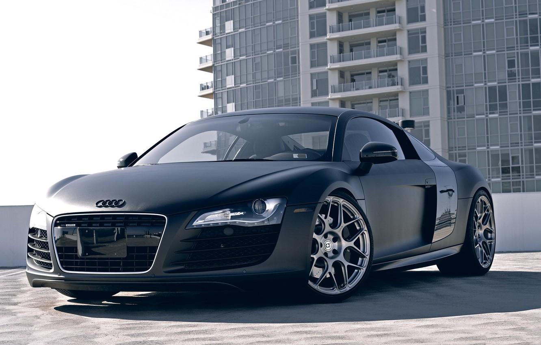 Photo wallpaper Audi, Wheels, HRE, P40SC, r8