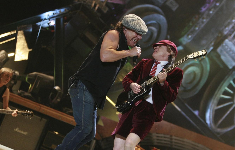Photo wallpaper Concert, Rock, AC-DC, Scene