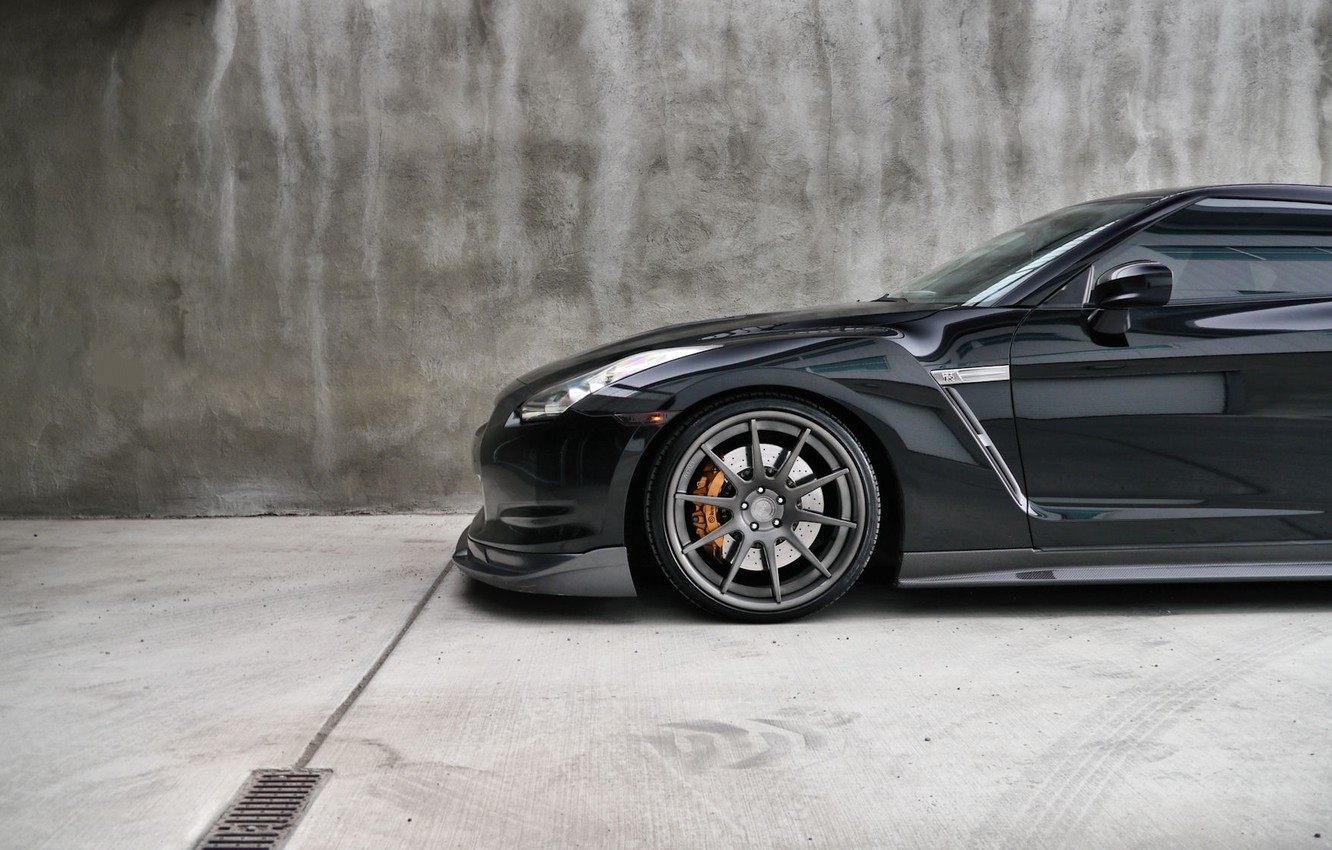 Photo wallpaper Nissan, cars, auto, wallpapers auto, Wallpaper HD, blac, Photography, Nissan Gtr, Gtr
