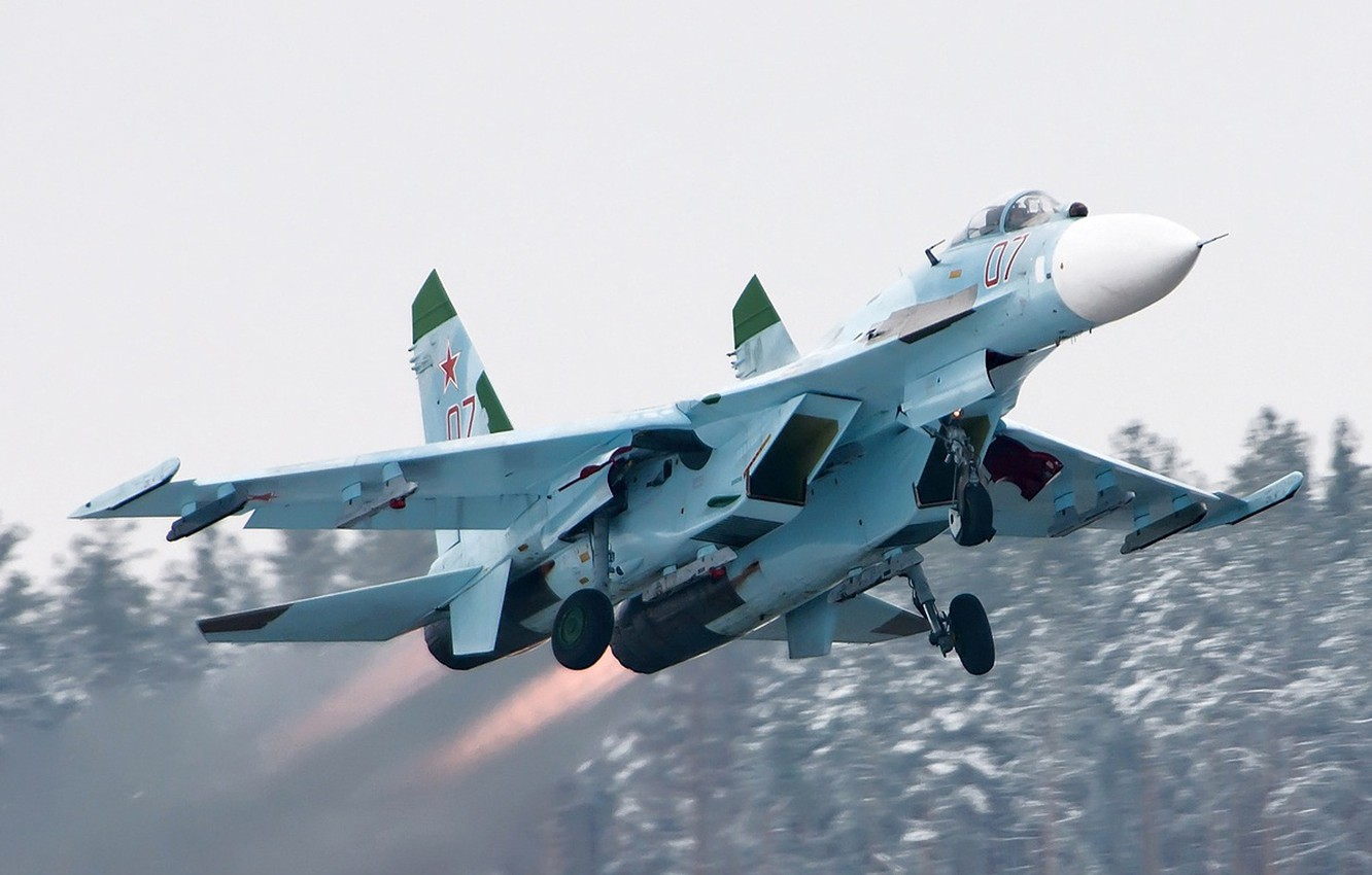 Photo wallpaper the rise, su-27, the fast and the furious