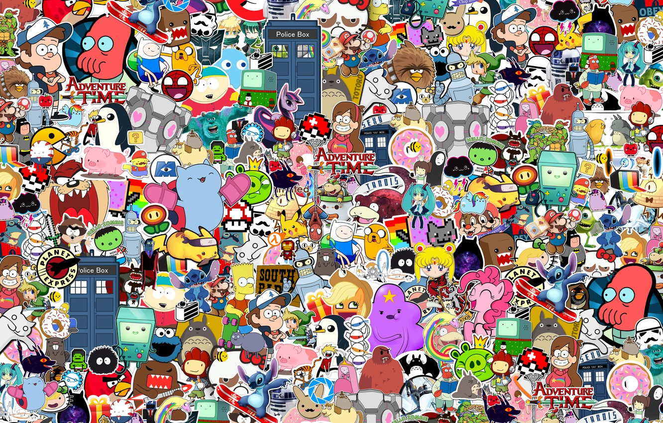 Photo wallpaper Style, Heroes, Style, JDM, Stickers, Stickers, Cartoon