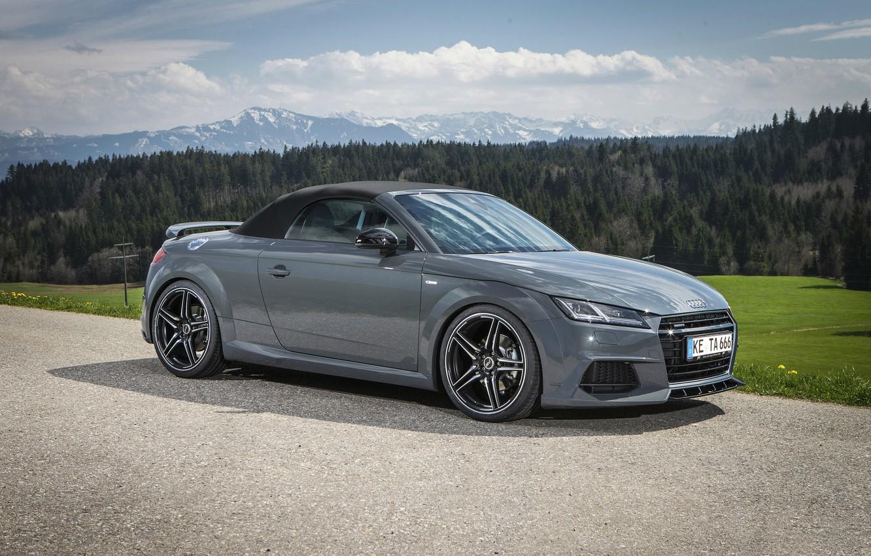 Photo wallpaper Roadster, Design, Grey, ABBOT, Audi TT