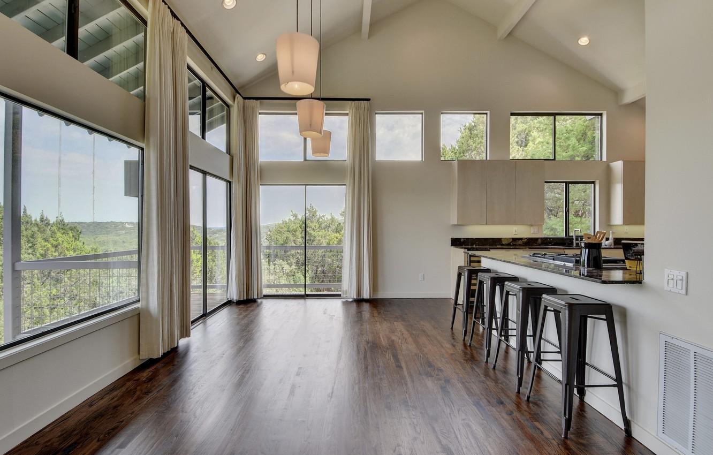 Photo wallpaper design, room, Villa, interior, kitchen