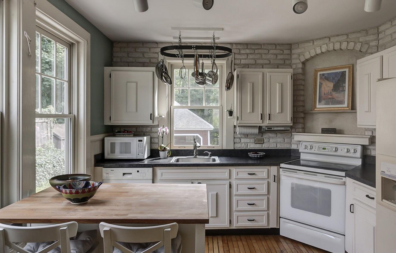 Photo wallpaper design, style, furniture, kitchen