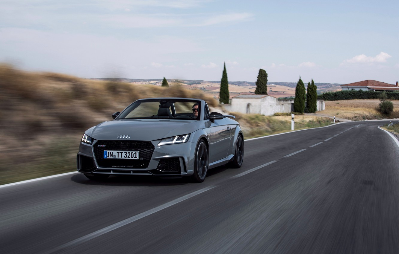 Photo wallpaper road, car, Audi, Audi, road, Quattro, speed, RS, TT