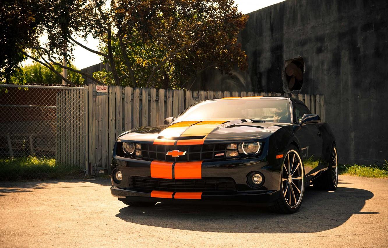 Photo wallpaper Chevrolet, before, Camaro