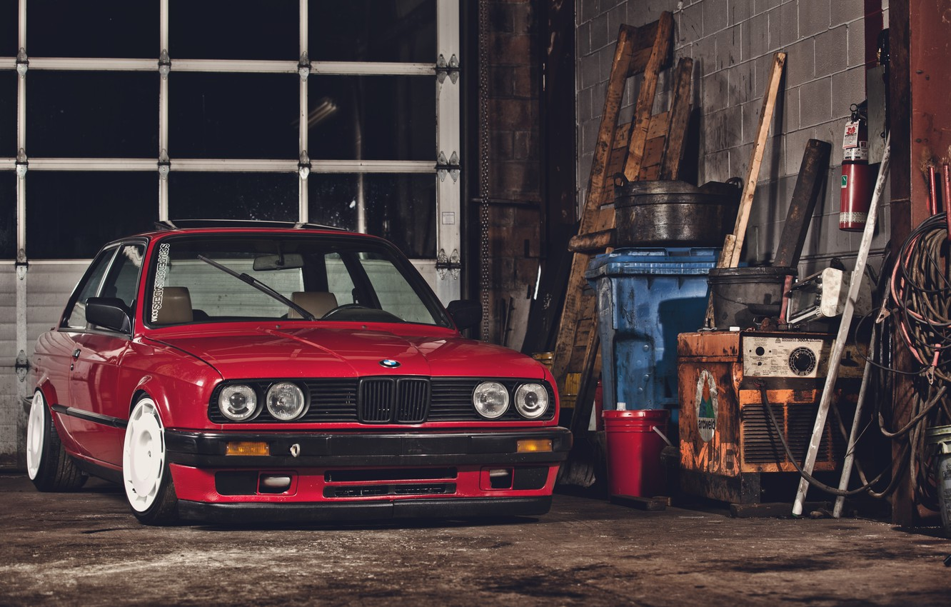 Wallpaper Coupe Garage Boomer Bmw E30 Images For Desktop Section Bmw Download