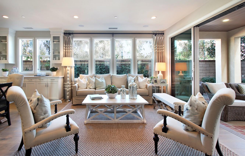 Photo wallpaper photo, Design, Chair, Interior, Living room
