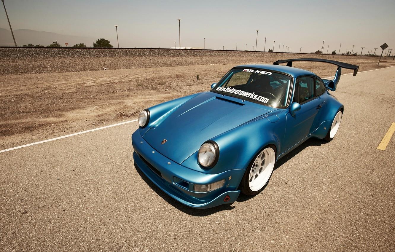 Photo wallpaper track, 911, Porsche, power, turbo, motor, turbo