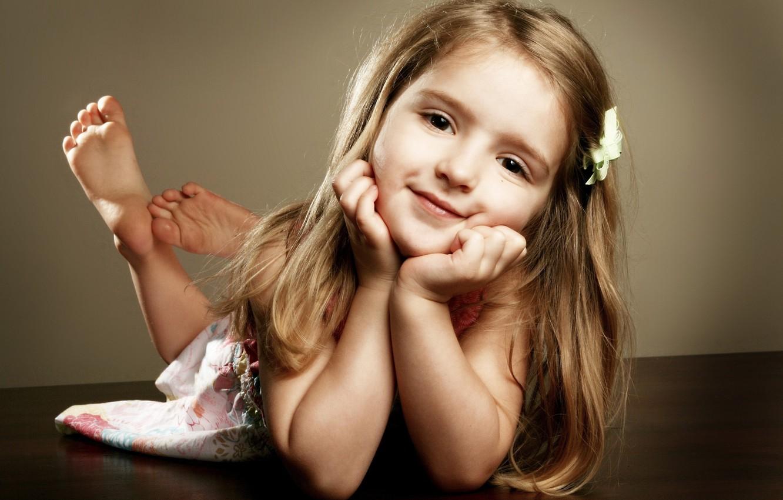 Photo wallpaper child, girl, baby, child
