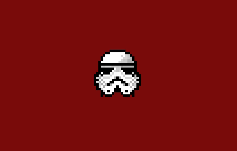Wallpaper star wars, star wars, attack, 8bit, stormtrooper
