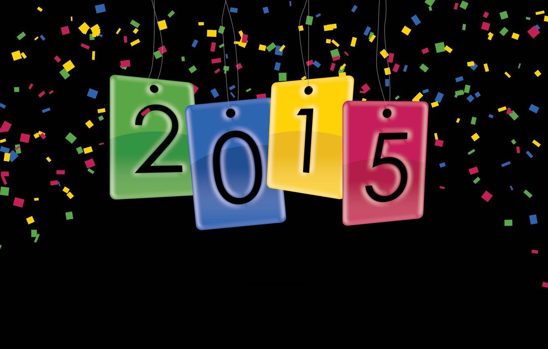 Photo wallpaper New Year, Holiday, 2015, Happy New year