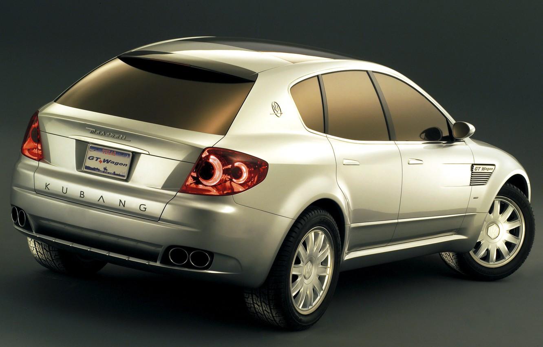 Photo wallpaper Concept, design, Maserati, 2003, ItalDesign, Kubang GT Wagon