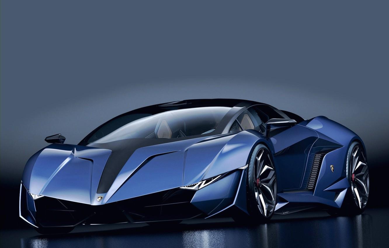 Wallpaper Prototype Lamborghini Darkblue Supercar Images For