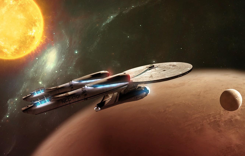 Wallpaper Enterprise Star Trek Into Darkness Vulcan Ncc1701