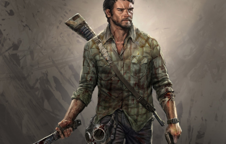 Wallpaper Game, The Last of Us, Joel, Naughty Dog, Joel